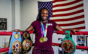 "MIAMI (April 4, 2019) - WBA, WBC and IBF Middleweight World Champion Claressa Shields hosted a media workout at 5th Street Gym in Miami Thursday as she nears her showdown against WBO Middleweight World Champion Christina Hammer for the undisputed middleweight world championship Saturday April 13 live on SHOWTIME from Boardwalk Hall in Atlantic City, N.J. The two-time Olympic Gold Medalist Shields and unbeaten Hammer will look to become the sixth fighter in history to unify all four major world titles in the main event of a SHOWTIME BOXING: SPECIAL EDITION (9 p.m. ET/PT). Tickets for the live event, which is promoted by Salita Promotions, are priced at $150, $100, $55 and $35 and can be purchased through Ticketmaster and at boardwalkhall.com. Shields has been training in Florida for the last week with her trainer John David Jackson, after spending the previous five weeks at the U.S. Olympic Training Center in Colorado. Here is what Shields had to say Thursday: CLARESSA SHIELDS ""Christina doesn't know what's coming for her. I'm going to break that Hammer in half. ""When we're in there, it's about who punches harder. This is a real fight. Just because she has height, doesn't mean she's going to dictate what happens. She's going to have to do a lot to keep me off of her. ""I have two Olympic Gold Medals, three belts and more coming. I'll have all the titles at the end of the night on April 13. ""I work hard, really hard. If I was a man, I would probably be one of the most famous boxers out there. There is a gender gap. We all know it. I'm working towards changing that. We work hard, we get less money and less recognition, but the world is changing. We are changing it. ""Hammer has been talking smack but I'm not worried about her. I'm just ready for a fight. She talks about a lot of stuff that has nothing to do with boxing. I'm waiting for her to say she's going to hit me with an uppercut or something, but it's more of the same. ""Being here in Florida to finish up camp has really been ideal. I've still been working extremely hard, but here I have a little extra space and sunshine. It was time for some new scenery in camp and I think this was the perfect move to take me into fight week. ""I've been working on my 'Ali shuffle,' this gym inspired me. Don't be surprised if you see me break it out during the fight. I've got some tricks up my sleeve. At the press conference there will be some surprises too — I have an outfit picked that is going to steal the show."" ""This fight is long overdue and I'm just glad I'm going to get my chance to show her what a real champion is. Someone is going down on April 13 and I promise it's not going to be me. ""People can say they're not paying attention to you and not studying you, but they're lying. I'm glad she's looking at me closely though. Hammer flew one of my friends out there to be a sparring partner, not even knowing that she hasn't sparred me in years and knows nothing about me. It makes me know I'm on her mind. She can spar with Ann Wolfe and she still isn't going to beat me."""