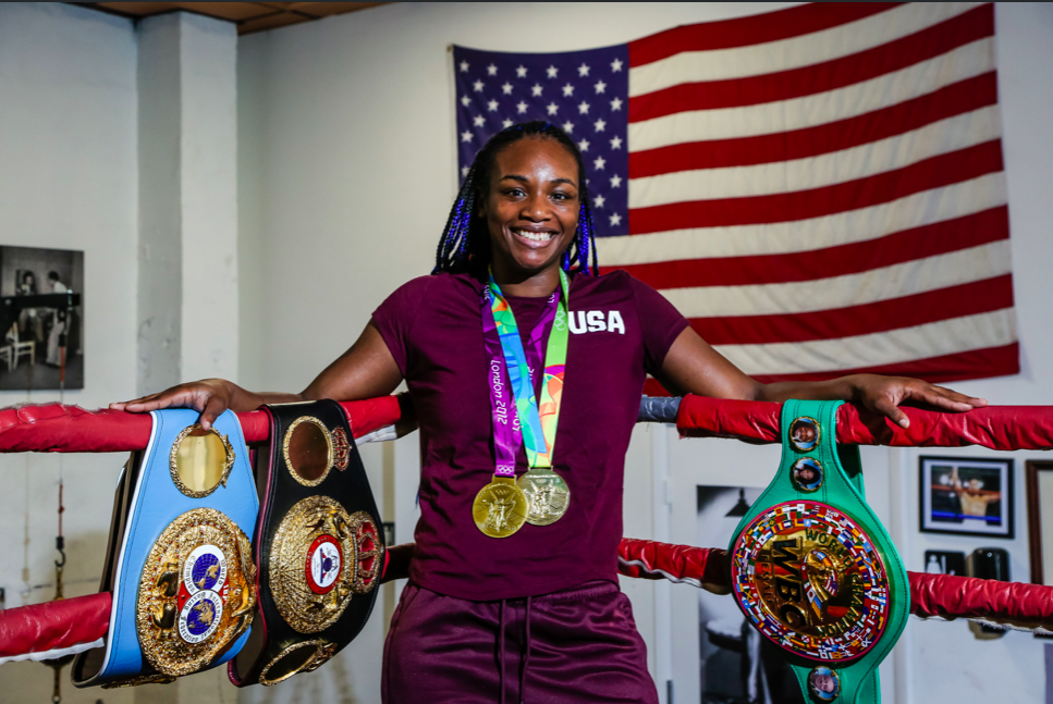 """MIAMI (April 4, 2019) - WBA, WBC and IBF Middleweight World Champion Claressa Shields hosted a media workout at 5th Street Gym in Miami Thursday as she nears her showdown against WBO Middleweight World Champion Christina Hammer for the undisputed middleweight world championship Saturday April 13 live on SHOWTIME from Boardwalk Hall in Atlantic City, N.J. The two-time Olympic Gold Medalist Shields and unbeaten Hammer will look to become the sixth fighter in history to unify all four major world titles in the main event of a SHOWTIME BOXING: SPECIAL EDITION (9 p.m. ET/PT). Tickets for the live event, which is promoted by Salita Promotions, are priced at $150, $100, $55 and $35 and can be purchased through Ticketmaster and at boardwalkhall.com. Shields has been training in Florida for the last week with her trainer John David Jackson, after spending the previous five weeks at the U.S. Olympic Training Center in Colorado. Here is what Shields had to say Thursday: CLARESSA SHIELDS """"Christina doesn't know what's coming for her. I'm going to break that Hammer in half. """"When we're in there, it's about who punches harder. This is a real fight. Just because she has height, doesn't mean she's going to dictate what happens. She's going to have to do a lot to keep me off of her. """"I have two Olympic Gold Medals, three belts and more coming. I'll have all the titles at the end of the night on April 13. """"I work hard, really hard. If I was a man, I would probably be one of the most famous boxers out there. There is a gender gap. We all know it. I'm working towards changing that. We work hard, we get less money and less recognition, but the world is changing. We are changing it. """"Hammer has been talking smack but I'm not worried about her. I'm just ready for a fight. She talks about a lot of stuff that has nothing to do with boxing. I'm waiting for her to say she's going to hit me with an uppercut or something, but it's more of the same. """"Being here in Florida to finish up camp has r"""