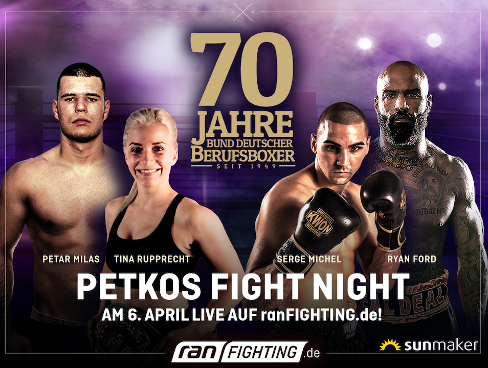 Tina Rupprecht seeks to defend her crown on April 6, 2019 in Germany.