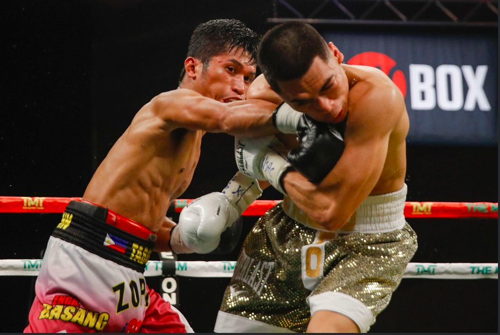 Angelo Leo showed his class in getting the W on ShoBox. Esther Lin pic.