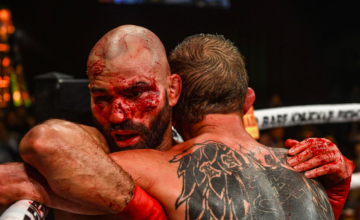 Artem Lobov fought Jason Knight April 6, 2019.