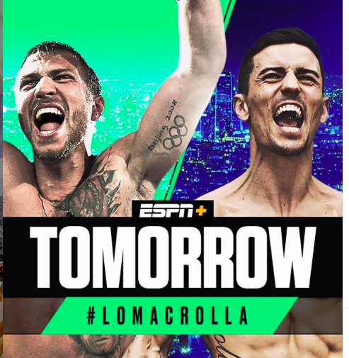 Lomachenko is a heavy favorite over Brit Crolla,