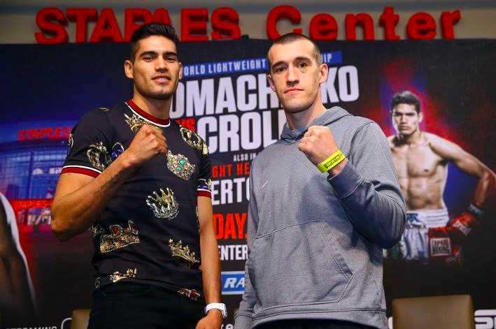 Zurdo meets Karpency on Friday night.