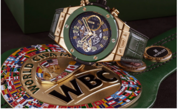 The WBC and Hublot pair up for a charity event on May 3, 2019.