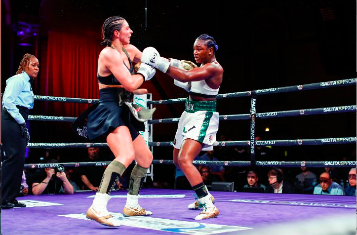 Shields gave up the first round but not much more than that, against hammer, on April 13, 2019, on Showtime.