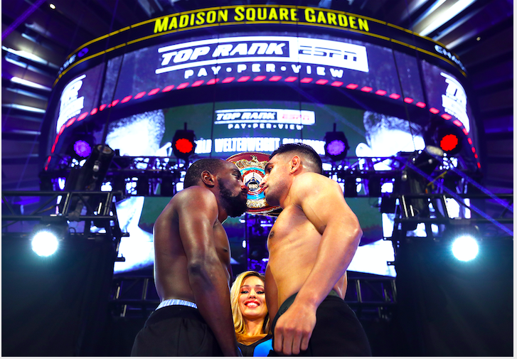 Who wins and how? Crawford vs. Khan, April 20, 2019, at Madison Square Garden.