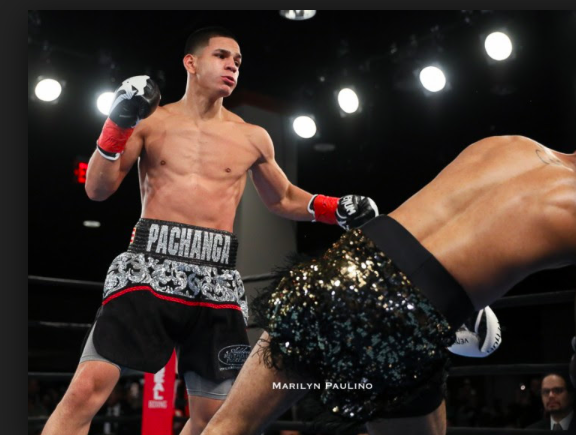 Berlanga is now 10-0, with 10 Kos. Every damn one has come in round one.