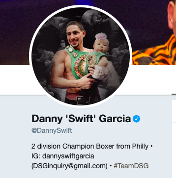 Danny Garcia got one vote for Who Won the Weekend.