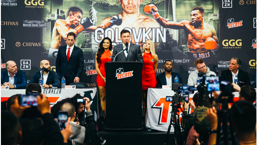 Steve Rolls is a relative unkwown, who wants to flip the script when he fights Gennady Golovkin June 1 at Madison Square Garden.