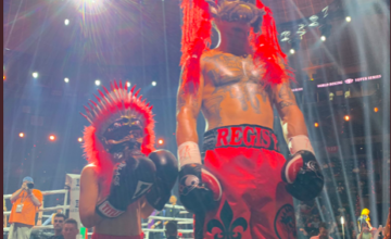 Regis Prograis and Lil Rougarou