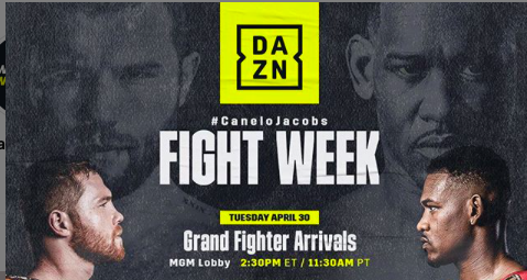 Canelo vs. Jacobs fight week is here. We are days away from the middleweight clash, to screen on DAZN.