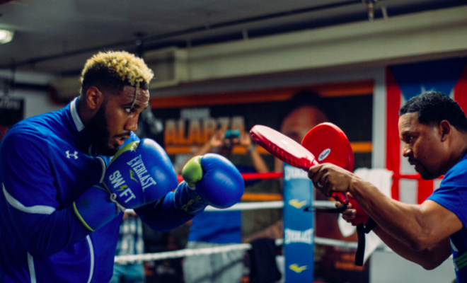 Jarrett Hurd counts down to a May 11 clash with Julian Williams.