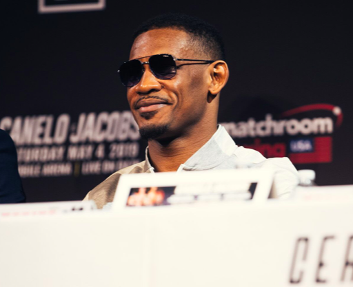 Jacobs looks confident at the final presser. But, the writer notes he could be past his physical peak. May 4, we see how it plays out. Westcott pic.