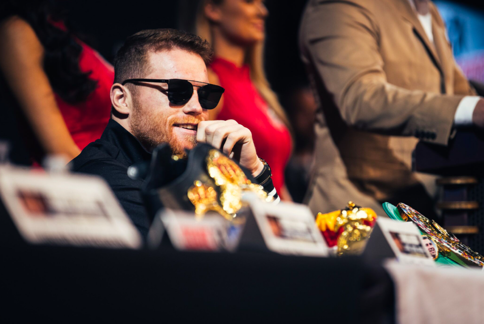 Canelo's confidence level is likely at a monumental peak...he gives off the vibe that he can't be beaten. Westcott pic
