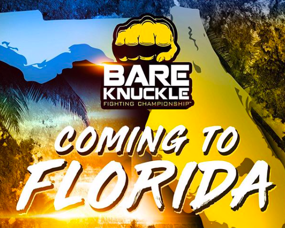 BKFC is coming to Florida; Maliganngi v Lobov, June 22, on PPV.