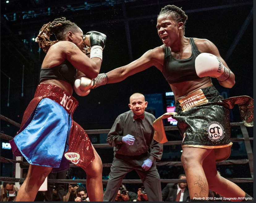peace...and disrupt things too, when the time calls for it. Tiara Brown is a rising star. David Spagnolo pic.