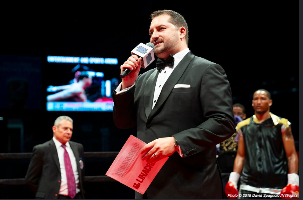 Mark Fratto started the Fightnight Live series, in May 2017. David Spagnolo pic