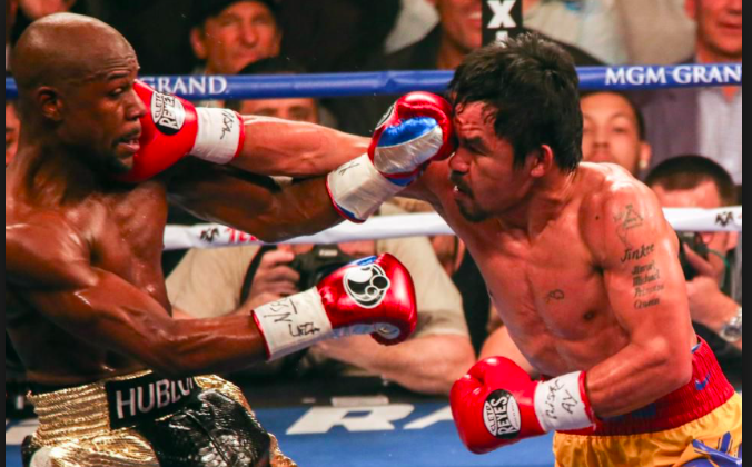 "If Pacquiao were to meet Mayweather again, could age finally catch up to ""Money,"" and give Manny the edge?"