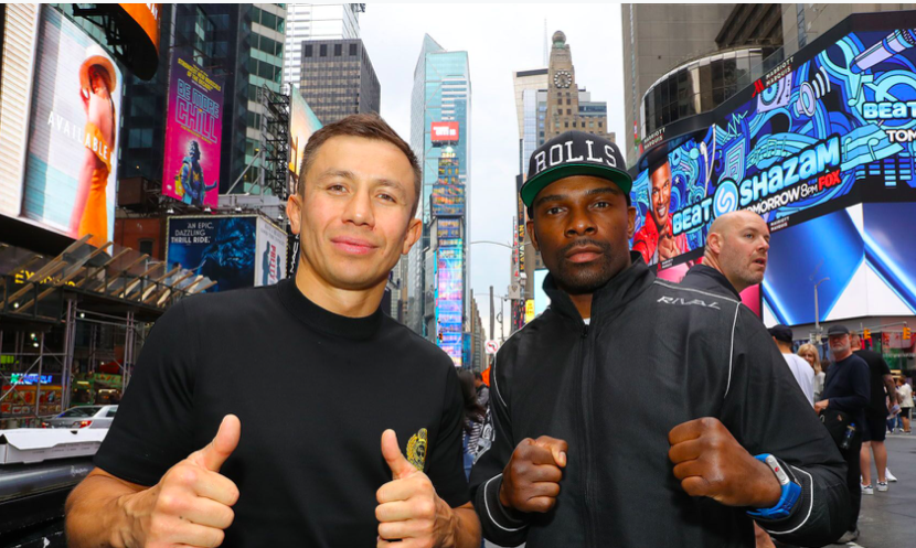 GGG is a massive favorite...but so was Joshua! (Tom Hogan pic)