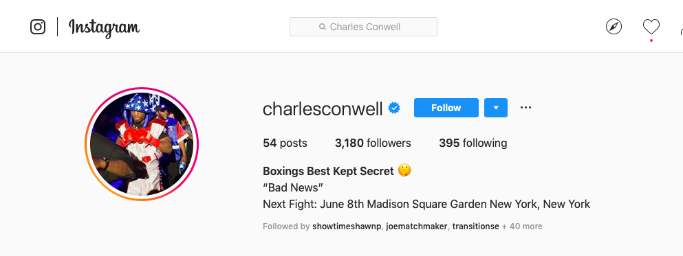 Charles Conwell is a junior middleweight prospect from Ohio.