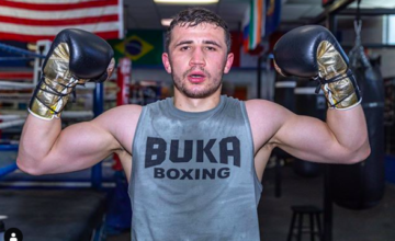 Israil Madrimov went to 3-0 on June 8, 2019 in NYC.