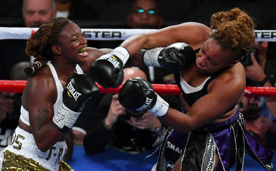 Yes, a rematch against Claressa Shields could be in the cards for Franchon Crews-Dezurn, now with Golden Boy.
