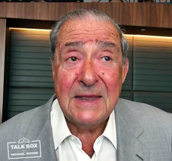 Promoter Bob Arum appeared on the Everlast Talkbox podcast June 18, 2019.