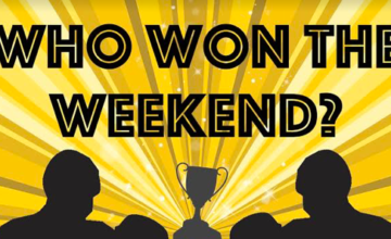 Every Monday, NYFights.com posts The Who Won the Weekend column.
