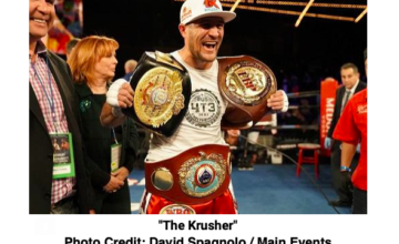 On August 24, Sergey Kovalev fights Anthony Yarde in Russia.
