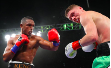 Tureano Johnson beat Jason Quigley on a July 18, 2019 Golden Boy show.