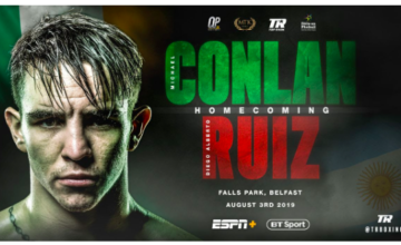 Michael Conlan, the 2016 Olympian, fights in Belfast Saturday; his scrap will screen on ESPN+.