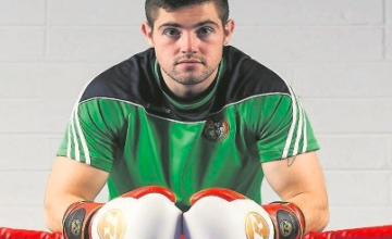 Irishman Joe Ward has the makings of super-stardom, possibly, says promoter LOU DiBELLA.