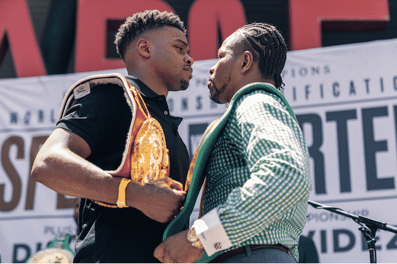 Spence said he would KO Porter on their Sept. 28 clash.