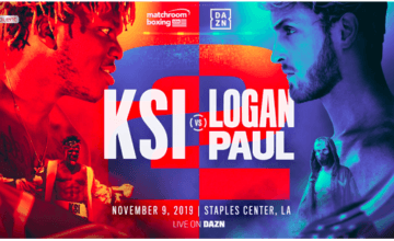 On Nov. 9, KSI will rematch Logan Paul. They scrap in Cali, and the bout will screen on DAZN.