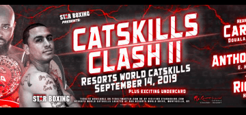 Carlos Takam headlines Sept. 14 at Resorts World Catskills.