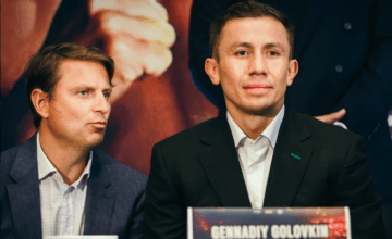 Gennadiy Golovkin at press conference in NYC Oct. 2, 2019.