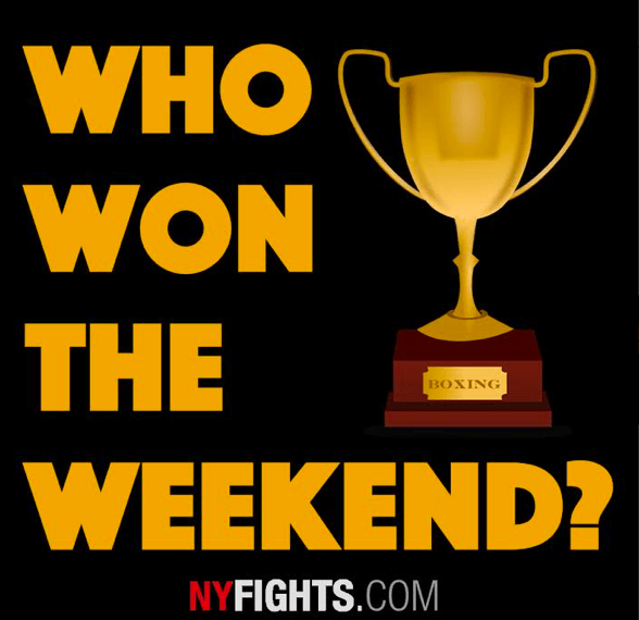 Every week, the NYF Squad weighs in, and shares who they think Won the Weekend.