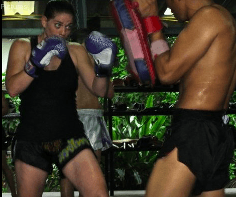 Trisha Sampson, who calls Vancouver home, had a stint in Berlin, where she did Muay Thai fighting.