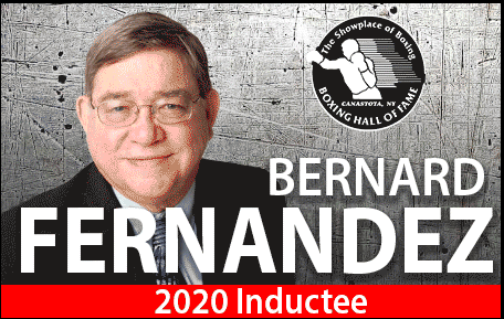 """I """"edited"""" Fernandez at The Sweet Science for a bunch of years. The man is a pro's pro. No drama, no typos, no mailing it in. He cares, deeply.  Congrats, sir, from your old editor, Woodsy."""