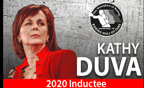 Duva is happy that her plaque will get placed next to her late husband, Dan Duva.