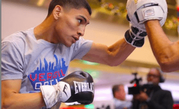 Vergil Ortiz Jr of Texas is one of the very best in the Golden Boy. stable.