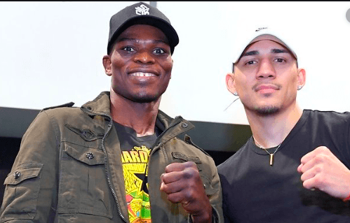 Richard Commey defends his IBF 135 pound crown on Dec. 14, 2019 versus Teofimo Lopez, at Madison Square Garden.
