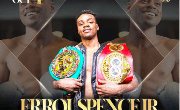 Errol Spence's last Instagram post, which posted before his crash.