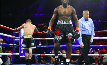 Terence Crawford had to work hard to beat Kavaliaskas on Dec. 14, 2019 in NYC.