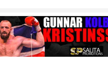 Gunnar Kolbeinn Kristinsson is a heavyweight boxer from Iceland.