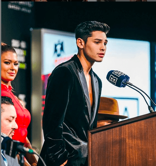 Ryan Garcia said on Jan. 3 that he is the biggest star in boxing, right now.