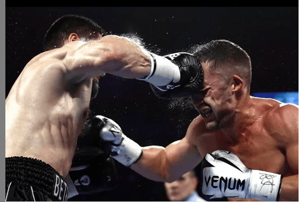 Beterbiev lands on Gvozdyk; this win elevated Beterbiev in the minds of most all boxing pundits.