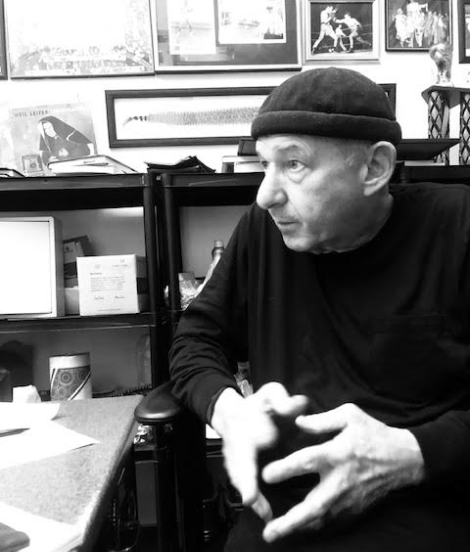 Bruce Silverglade, pictured at Gleason's Gym, Jan. 10, 2020.