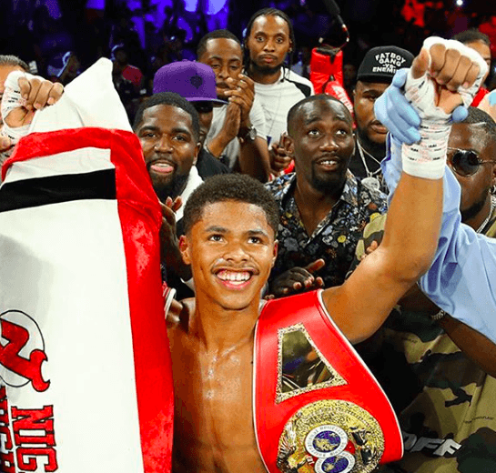 Shakur Stevenson defends his WBO featherweight title March 14 at MSG Theater.