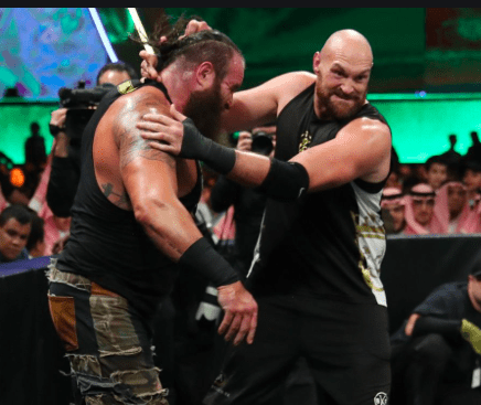 Fury had a harder time with Strowman than he did Wilder.